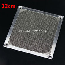 10 Pieces lot 120mm PC Computer Fan Cooling Dustproof Dust Filter Case fr Aluminum Grill Guard(China)