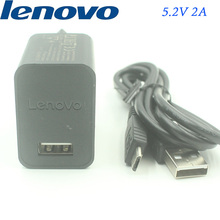 Original Lenovo Charger adapter 5.2V 2A,Micro USB Cable For K900/K3 Note/Vibe Shot/P70/p780/S90/A536/K910 K920 X X2 pro