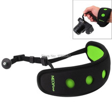 5 Colors Brand New Neoprene Camera Hand Strip HS-5 Quick DSLR Camera Wrist Strap With 14 inch Screw