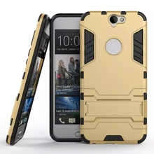 Cool Hybrid 2 in 1 Case For HTC A9 Luxury Hard PC +TPU Back Cover For Htc One A9 With Stand Flexible Armor