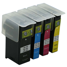 8x 100XL Black Color Ink Cartridge for Lexmark Prevail Pro705 Pro706(China)