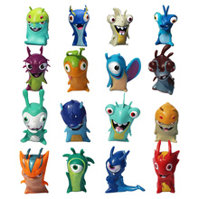 24Pcs/Set Slugterra Mini Action Figure Baby IPS Toys Block Anime Cartoon Movie Figure Toys New Year Chrismas gift Free Shipping(China)