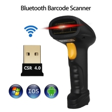 Wireless Barcode Scanner Reader Bluetooth Handheld Scanner High Scaned Speed Cordless Bar Code POS  Scan for Android for iOS
