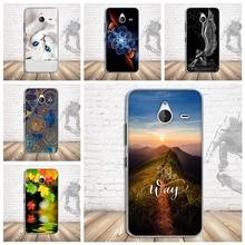 Soft TPU Cases for Nokia Microsoft Lumia 640 XL Colorful Painted Silicon Soft Back Cell Phone Cover Bags for Nokia 640xl Cases