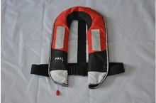 Free shipping Automatic &Manual device Inflatable life jacket marine life jacket PFD for 150N