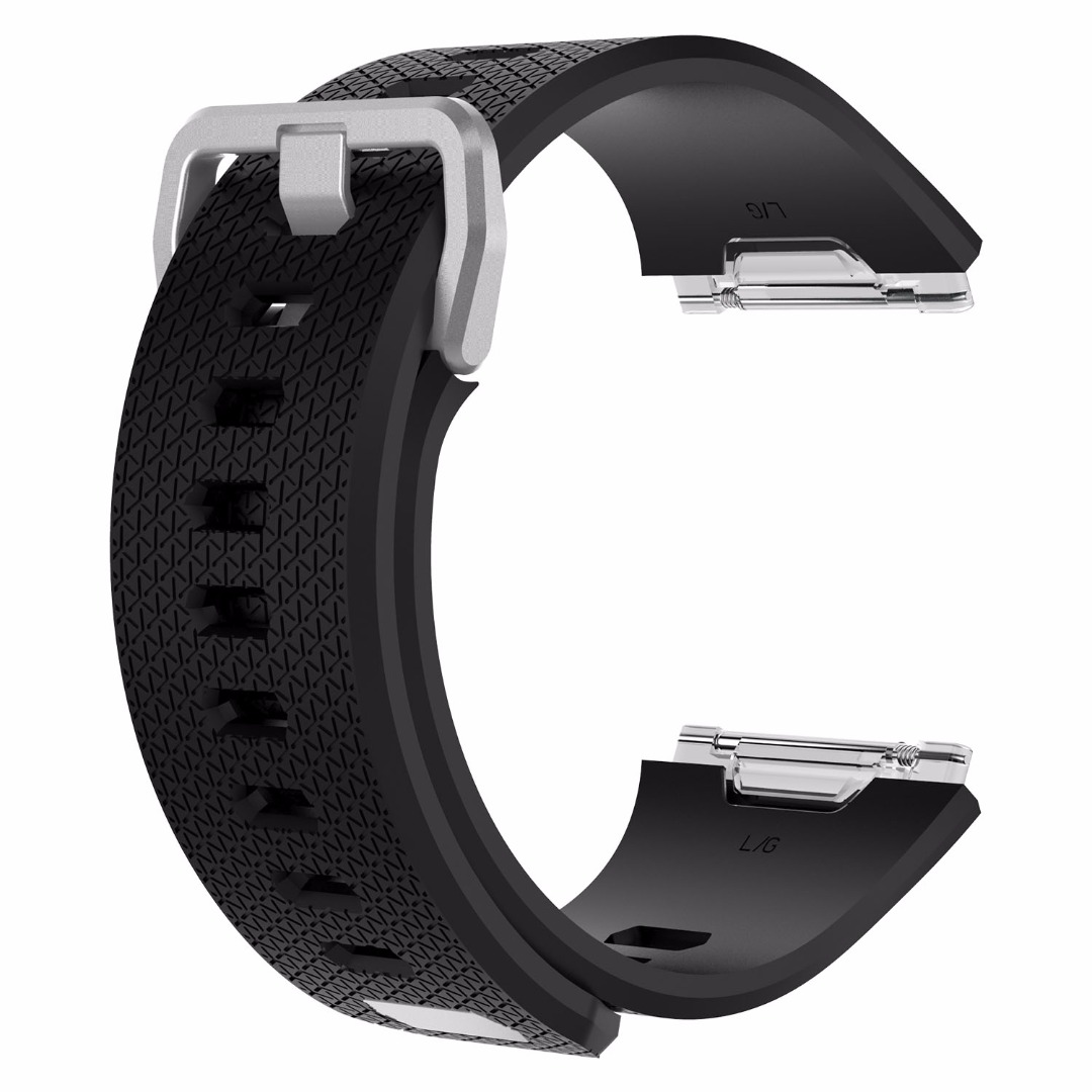 Sports Safety Replacement Silicone Wristband Sports Wrist Band Strap For Fitbit Ionic Outdoor Replacement Accessories