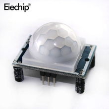 5pcs/lot HC-SR501 HCSR501 NEW Adjust Infrared IR PIR Motion Sensor Detector Module Security Motion Swith for night light control(China)