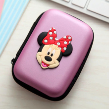 Cellphone Accessories Cartoon Portable Carry Case For iPhone 6 Wire Storage Box Organizer Cable Storage Container Cover Case Bag