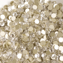 YANRUO 2058NoHF SS16 Clear Crystal FlatBack Rhinestones Non Hotfix Crystal Stones Strass Rhinestone Painting Arts Crafts Sewing(China)