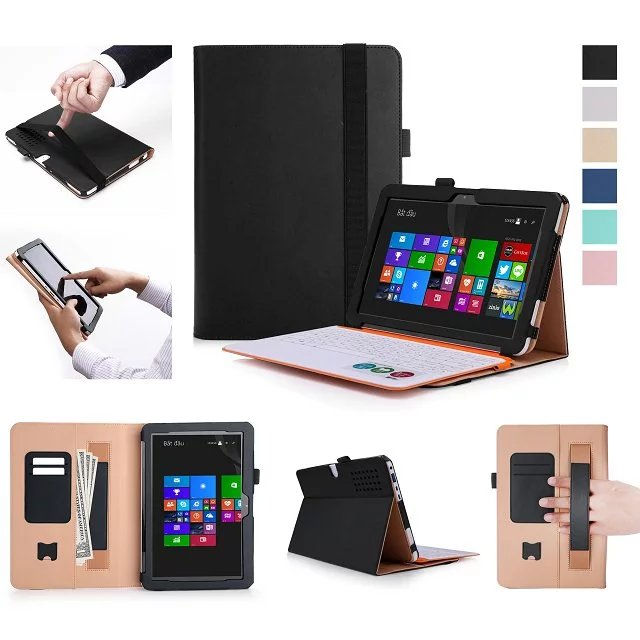 Luxury Flip Book case for ASUS Transformer Mini T102HA 10.1 inch Tablet PC Leather Case Cover Stand Hands Holder <br>