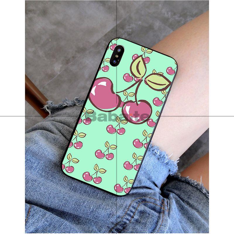 Cute Cartoon Lovely Cherry Strawberry