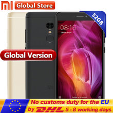 "Global Version Xiaomi Redmi Note 4 3GB 32GB Mobile Phone Snapdragon S625 Octa Core 5.5"" FHD MIUI8 13.0MP Note4 Cellphone(China)"