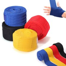 1 Pair 2.5m Boxing Handwraps Bandage Punching Hand Wrap Boxing Training Gloves Training Wrist Protect Fist Punch