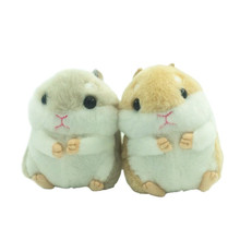 1pc 10cm Kawaii Small Plush Pendant Stuffed Animal Plush Hamster Package Pendant Fashion Decorations For Girl