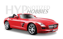 Free Shipping Maisto 1:24 Benz SL 2012 AMG 63 BONVERTIBLE alloy automobile model kids gifts high simulation hot sale