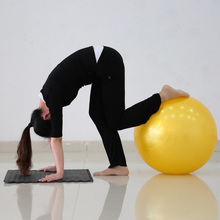 55CM Thickening Yoga Ball Explosion-proof Ball Yoga Ball To Lose Weight Keep Fit Yoga Healthy Equipment