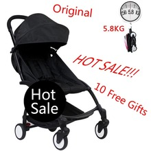 Original Lightweight Travel Baby Stroller Portable Folding Umbrella Stroller Kinderwagen Bebek Arabas Stroller(China)