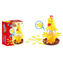 Chicken Don't Drop Egg Game Child Exciting Fun Pull Out Feathers Toy Gift Family Educational Parent-Child Interactive Game Toys(China)