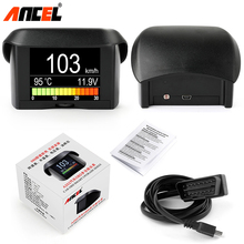 Ancel A202 OBD2 Car Driving Computer Fuel Consumption Speed Temperature Voltage Digital Gauge Multi-Function OBD2 Code Reader(China)