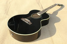 Best  acoustic guitar,solid black,rosewood bridge and fingerboard,star inlay ,with EQ .Real photo shows