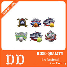 3D MINI Motor Racing Funny Auto Car Styling Ball Hits Body Window Sticker Self Adhesive Baseball Tennis Decal Accessories - China Town--Auto Parts Co.,ltd store