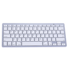 Ultra Slim Bluetooth 3.0 Wireless Keyboard Original 2.4GHz Keyboards for Apple iPad Windows/Android/IOS