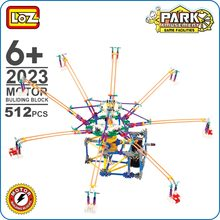 LOZ Building Blocks Educational Rotary Chairs Model Park Amusement Large Octopus Rotator Buy Toys China Technic Motor Gear 2023