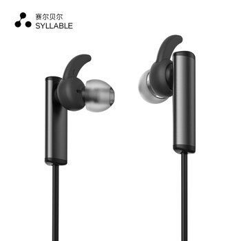 SYLLABLE D300L Bluetooth 4.1 Headset Wireless Sports Earphone Earbud with Mic Stereo Headset for Mobile Phone Headphone Black