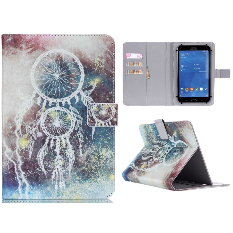 Wallet Universal10 inch Tablet PU Leather Case Stand Cover For ARCHOS 101 Neon101 Xenon101 XS 2 10.1 For Android Cases S5C53D (57)