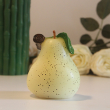 Pear Candle Wedding/Home/Church/Xmas Christmas Party Supplies Decoration Scented Candle Wedding Favor Greet Gift Free Shipping