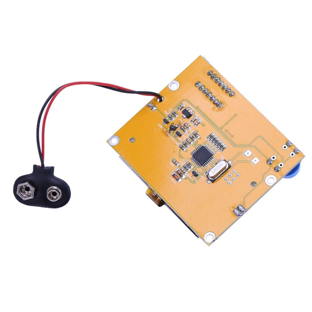 2X LCR T4 ESR Combo Digital Transistor Tester Diode Triode Capacitance indutor resistor MOS/PNP/NPN + Teste clipe 12