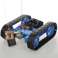 high Quality DIY Assembling Tracked Tank Car Robot Kit With Remote Control Smart Robot For Arduino RC Model