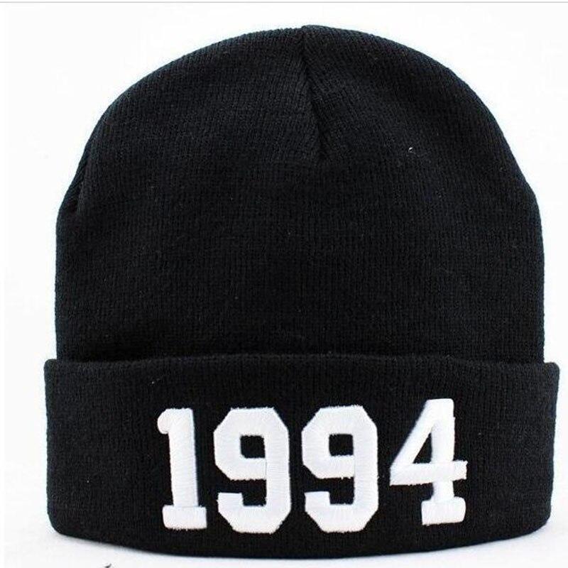 Fashion Letter Hats for Women Casual Cap Hat 1994 Hat Knit Wool Men Male Female Hip Hop Caps Cap Hat Îäåæäà è àêñåññóàðû<br><br><br>Aliexpress