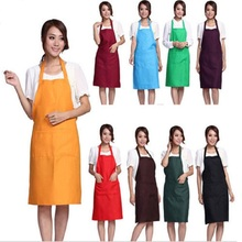 Hot Cooking Apron Kitchen Work Dining Promotional Aprons Free Shipping Home Hotel Housewife Essential Supplies Free Shipping