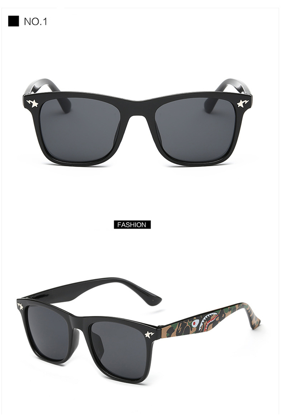 Fashion Kids Sunglasses lovely Sunglasses Mosaic Boys Girls Pixel Eyewares With Case Children Gift (21)