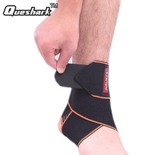 1pcs Silicone Ankle Support Strap Basketball Football Professional Adjustable Ankle Sleeve Protection Ankle Brace Sport Safety(China)