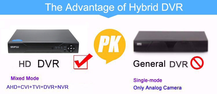 the advantage of AHD DVR pciture 01