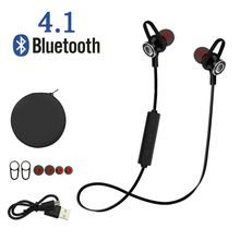 Novpeak Bluetooth Earphone Sport Wireless Running Headset With Mic for iphone xiaomi samsung S8 MP3 fone de ouvido(China)