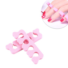 2 Pcs/lot Soft Foam Sponge Toe Separators Finger Separators Dividers Nail Art Manicure Pedicure Nail Gel Tools