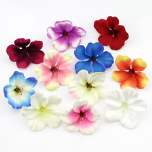 200pcs/lot spring Silk Orchid Artificial Flower heads ,Gladiolus Cymbidium Flowers for Wedding Decoration