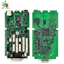 2017 NEW TCS cdp Single Green PCB board CDP PRO 2014.2 Software with Keygen for Car and Trucks Diagnostic Tool