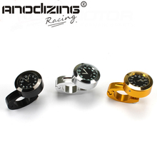 Ebay Hot Sales Popular 22mm Motorcycle Accessory Handlebar Mount Clock Watch Waterproof