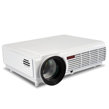 5500lumens smart Android4.4 wifi lcd tv led projector full hd 1920x1080 3d support home theater projetor video proyector beamer