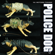 New Free Shipping Solider toys Police Dog (Sell Randomly )