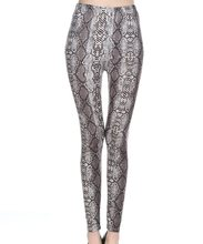 lady animal patten legging tiger leopard snake printed leggings ankle slim punk pant girl fashion 9 pants
