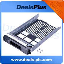 New 3.5'' SAS Serial SCSI SATA HDD Tray Caddy F238F For Dell Poweredge R310 T310 R410 T410 R415 R510(China)