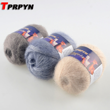 TPRPYN 1Pc=42g Soft Mohair Yarn for Hand Knitting Crochet Yarn to Knit Mohair Yarn for Knitting