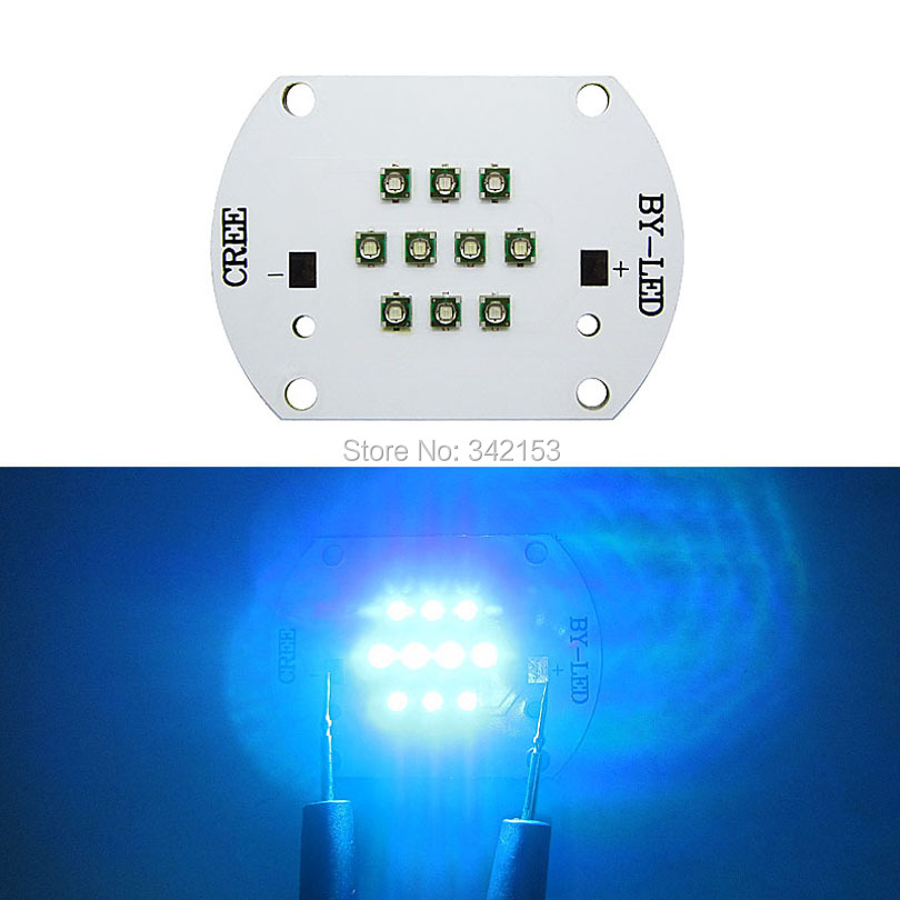 30W Cree XPE XP-E Led Bulb Blue(3PCS) + Green(4PCS) + Royal Blue(3PCS) Mix Color Multichip LED Plant Grow Light DIY Emitter<br><br>Aliexpress