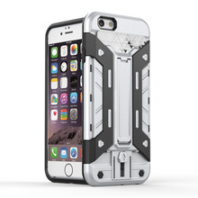 Fashon Newest Slim Defender Heavy Duty Armor Hybrid Dual Case Cover For iPhone 6 6s 6 Plus 5 5s SE Back Covers Case Coque Fundas