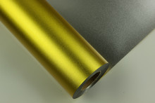 "24""*30m Sandy gold photo printing film roll(China)"